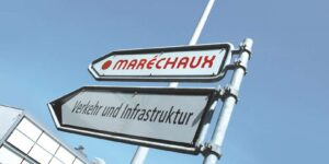 Maréchaux Wegweiser
